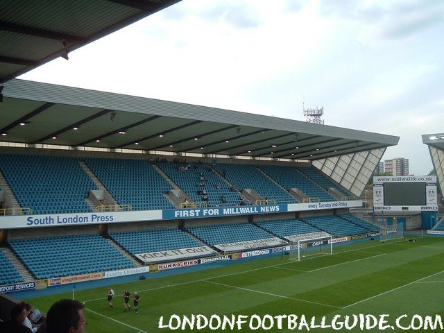 The Den - Away Sector - Millwall FC - londonfootballguide.com