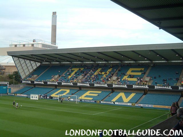 The Den - Cold Blow Lane End - Millwall FC - londonfootballguide.com